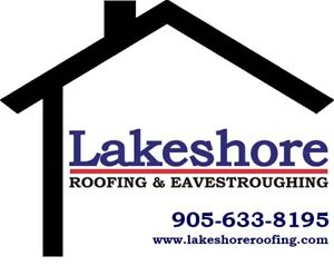 Experienced Roofers needed