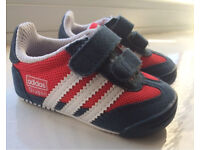 Boys Adidas Crib Trainers