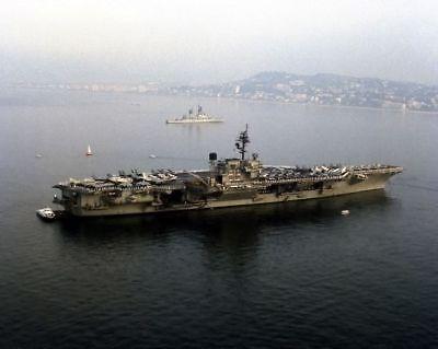 USS KITTY HAWK 8X10 PHOTO CV-63 NAVY US USA MILITARY AIRCRAFT CARRIER SHIP