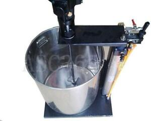5 Gallon Pneumatic mixer with stand and a barrel(141029)