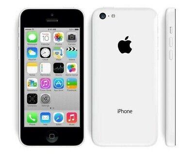 Apple iPhone 5C - Unlocked 8GB - White - Good - 12-Month Warranty!