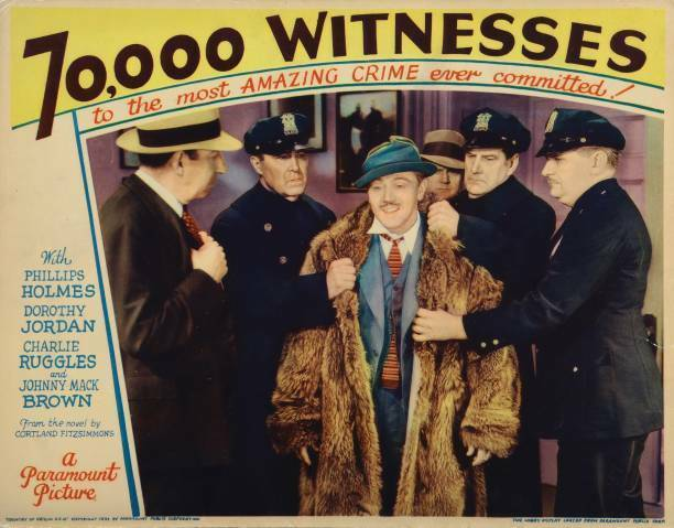 OLD MOVIE PHOTO Lobby Card000 Witnesses Charlie Ruggles 1932