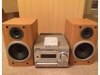 SONY DHC-MD373 MINI HI-FI COMPONENT SYSTEM & PORTABLE PLAYER