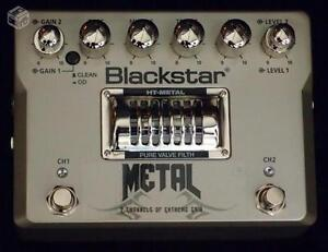 Pedal de distorsion à lampe Blackstar ht métal