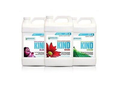 Botanicare Kind Trio 128Oz Gallon Each Base  Grow  Bloom  Save    W  Bay Hydro