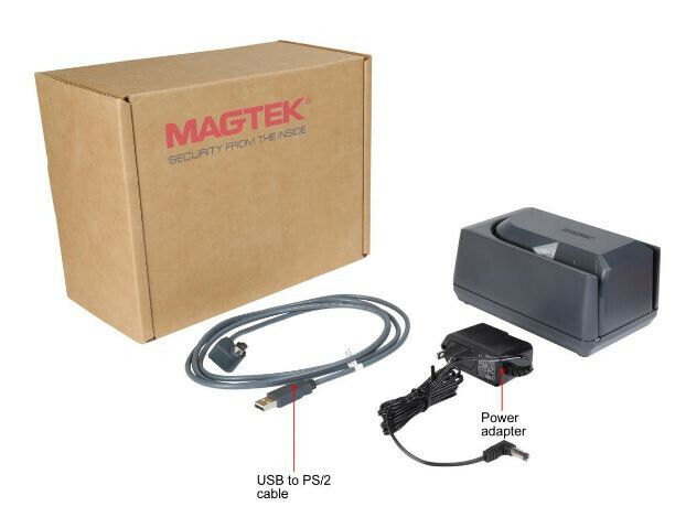 Magtek 22523003 Mini MICR with USB Keyboard emulation cable