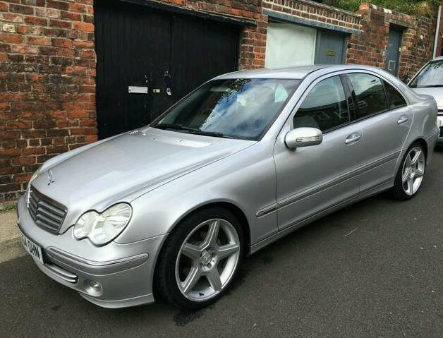 2005 mercedes benz c220 cdi elegance in newcastle tyne and wear gumtree. Black Bedroom Furniture Sets. Home Design Ideas