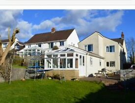 4 bed House in 3 Crosses for rent detached with off road parking and large garden