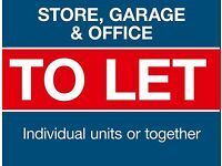 Garage, Store and Office Space To Let - Biggar