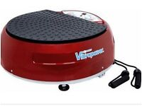 vibration disc plate by Vibrapower Exercise Machine Red in colour Has exercise programmes