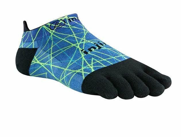 Injinji Men's Run Original Weight No Show Toesocks Toe Sock