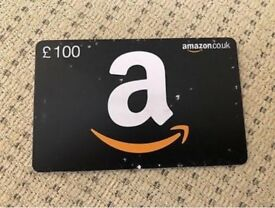 100 pound Amazon gift voucher