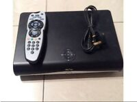 Sky plus HD box with remote built in memory Excellent,