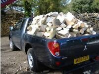 Dry barn stored logs £60 a large truck load