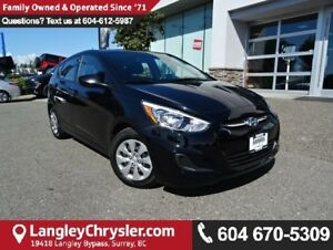 2016 Hyundai Accent SE *ACCIDENT FREE*ONE OWNER*LOCAL BC CAR*