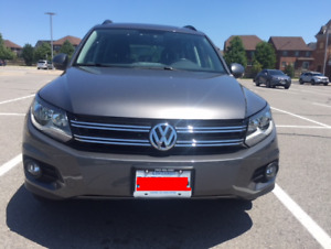 2015 Volkswagen Tiguan AWD with Convenience Package