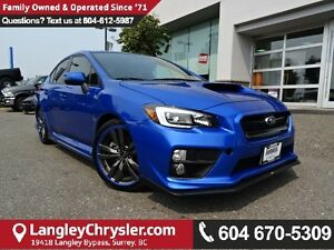 2016 Subaru WRX Sport-tech Package *ACCIDENT FREE * LOCAL BC...