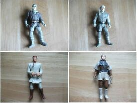 Star Wars 4 inch (10cm) Figures x 4