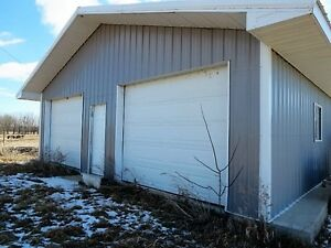 """""""St Laurent"""" 2 Acre Treed Lot Dbl Garage 24' x 32' ONLY $49,900"""