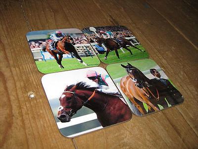 Frankel Horse Racing Legend COASTER Set
