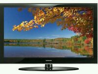 """Samsung 32"""" lcd tv built in freeview fullhd 1080p good condition fully working ."""