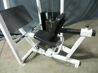 Life fitness leg press and calf extension