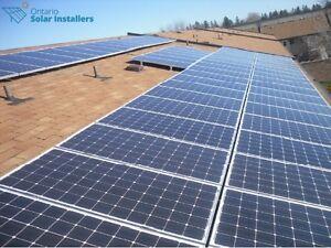 Solar panels microFIT & Net Metering programs Oakville / Halton Region Toronto (GTA) image 3