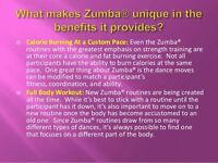 Zumba classes bootle