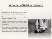 PLEASE HELP!!! -  A FATHERS RIGHTS!!