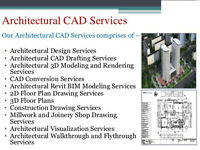 2D & 3D CAD Drafting Services