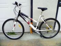 Hi there! White mountain bike for sale