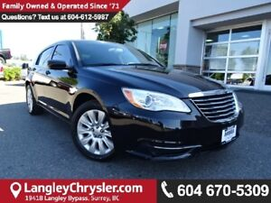 2013 Chrysler 200 LX W/POWER GROUP & AIR CONDITIONING