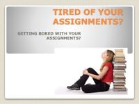 Get Assignments essays done and get high grades