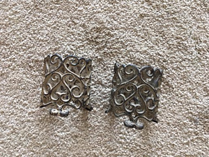 PIER 1 IMPORTS Wrought Iron Candle Holders (Set of 2)