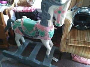 Rocking Horse for sale.  Antique/collectible.