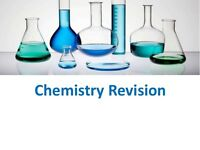 Chemistry tutor. Intensive Easter revision course.