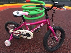 Saracen Bella little girls bicycle