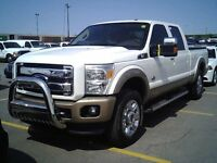 2012 F250 4x4 KING RANCH **DIESEL**     **100% CREDIT APPROVAL**