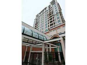 Central downtown highrise condo available now-9939 109ST