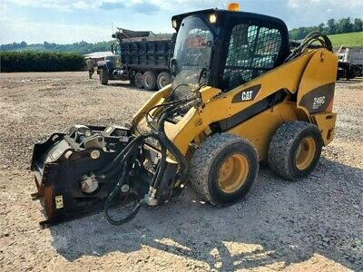 2011 Caterpillar 246c Skid Steer - Wheel Cat 246cwith Heat And Ac.