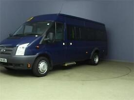 2014 FORD TRANSIT 430 TDCI 135 LWB MEDIUM ROOF 17 SEAT BUS RWD MINIBUS DIESEL