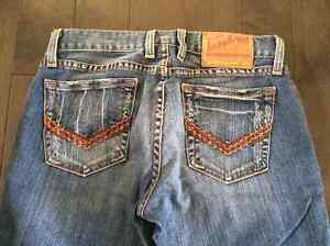 LUCKY BRAND boot cut jeans - sz 24 or 00. Hardly worn. Paid $125
