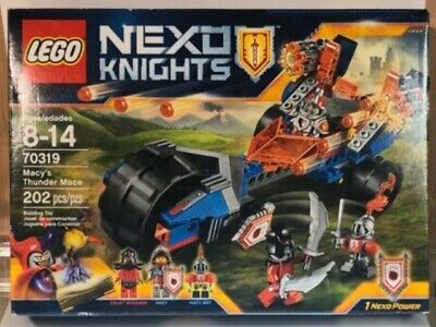 Lego 70319 Nexo Knights Macy's Thunder Mace, 100% complete with manual and box!
