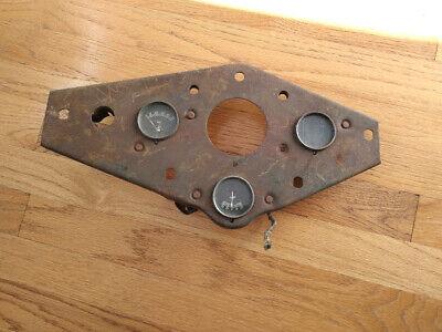 Tractor Dash Gauge Panel Vintage Antique Rat Rod Man Cave Garage Art Hot Rod