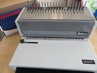 "IBICO ""Ibimatic"" Punch and Binding Machine (Just Dropped the Price)"