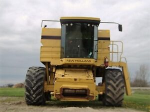 1995 New Holland TR97 Twin Rotor Combine London Ontario image 8