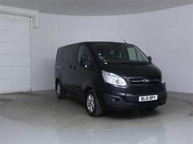 2015 FORD TRANSIT CUSTOM 290 TDCI 125 L1 H1 LIMITED DOUBLE CAB 6 SEAT CREW VAN S