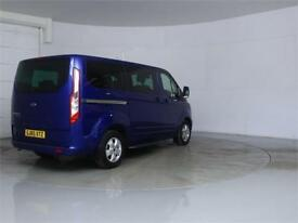 2015 FORD TOURNEO CUSTOM 300 TDCI 125 L1 H1 LIMITED 9 SEAT MINIBUS SWB LOW ROOF