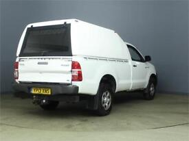2013 TOYOTA HI-LUX HL2 144 4X4 D-4D SINGLE CAB WITH TRUCKMAN TOP PICK UP DIESEL