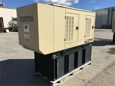Generac 50 Kw Diesel Generator - Single Phase - Daewoo Engine - 162 Hours
